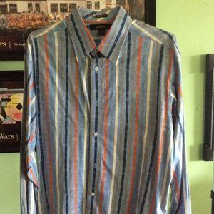 Sean John Mens Button Down Shirt XL